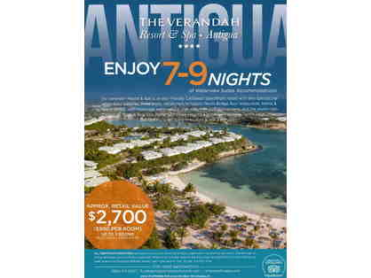 7-9 Nights at The Veranda Resort & Spa Antigua