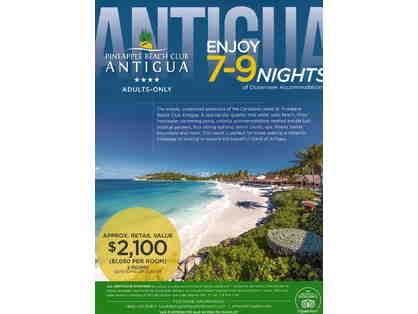 7-9 Nights of Ocean-view Accommodations at Pineapple beach Club Antigua