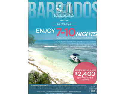 7-10 Nights at The Club, Barbados Resort & Spa