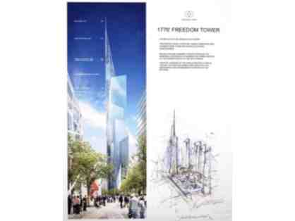 1776 Freedom Tower by Daniel Libeskind