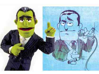 Custom built professional quality puppet with renowned artist Edward Eyth