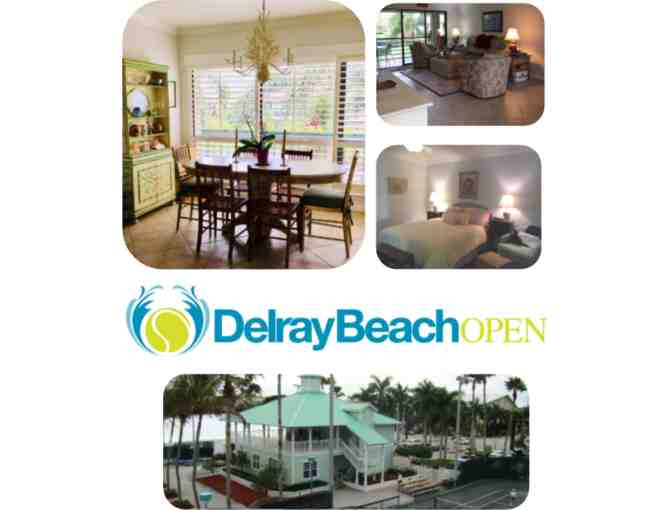 Delray Beach, Florida Condo & Pro Tournament Package