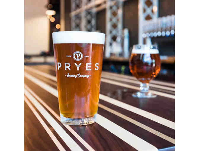 Pryes Brewing Party Package