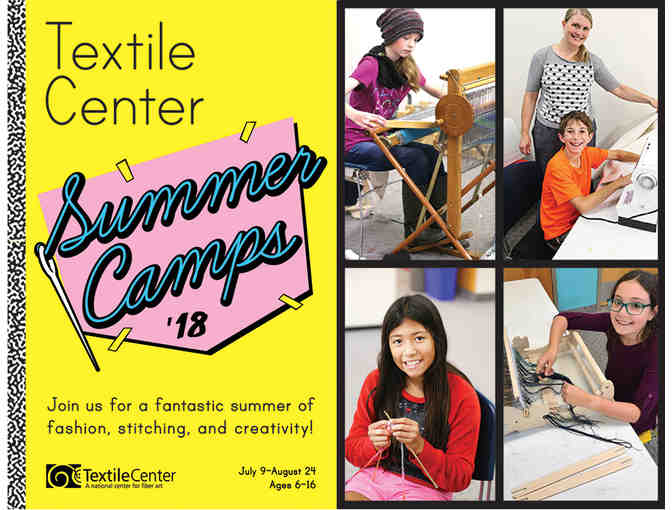 MN Textile Center Youth Fiber Art Guild Kit and 25% Off Summer Camp