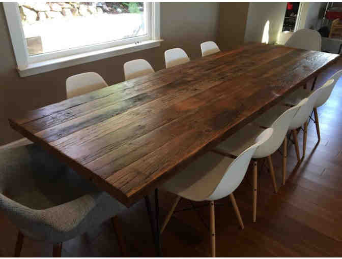 Custom Dining Room Table by CM Woodworks