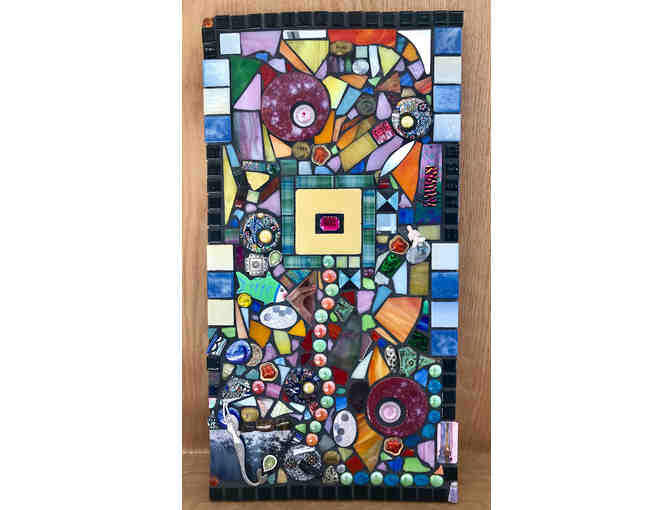 Mixed Media Mosaic by Jeana Sommers