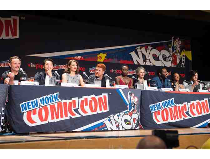 Two Sunday tickets to New York Comic Con