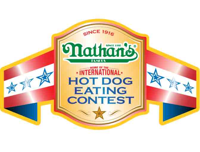 Be a guest judge at Nathans Hot Dog Eating Contest! - Photo 1