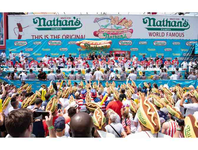 Be a Guest Judge at the Nathan's Hot Dog Eating Contest!