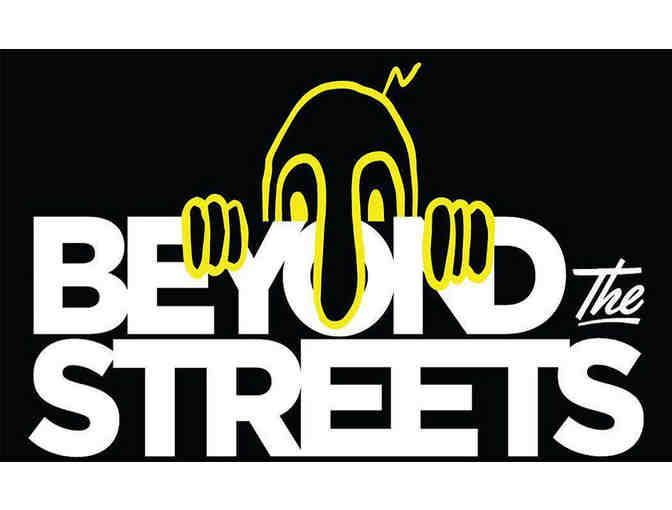 Beyond the Streets Package Including Two ADIDAS X BTS Skatedecks