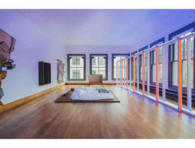 SoHo Studio Session Package with Tour of Donald Judd's Home