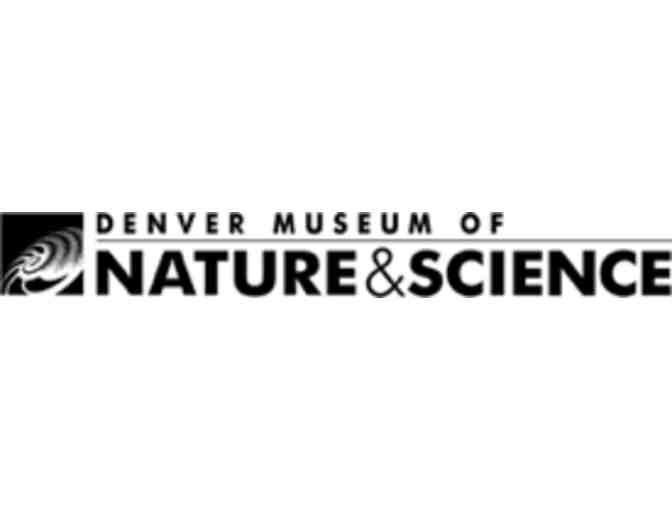 Denver Museum of Nature & Science - 4 Admission Tickets