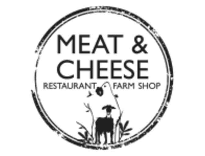 $100 Gift Card for Meat and Cheese Restaurant & Farm Shop