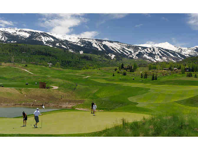Golf at the Snowmass Club