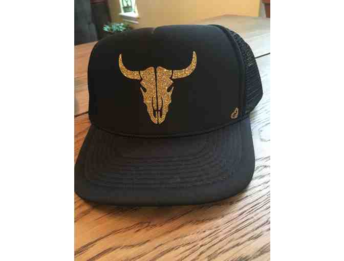 Bull Skull - Trucker Hat by Mother Trucking Co. -The Loft Boutique
