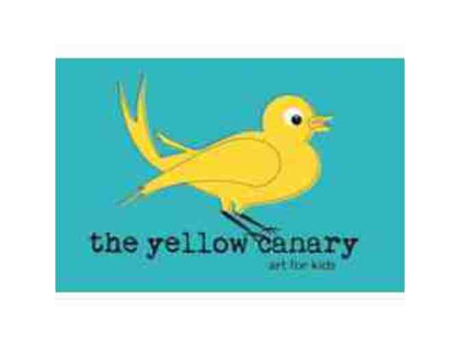 The Yellow Canary - (2) Single Art Classes for Toddlers