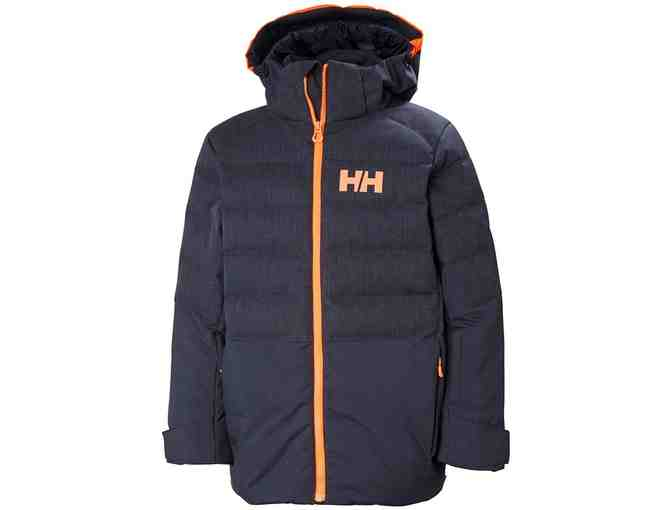Helly Hansen Junior North Down Jacket Size 10, Navy/Marine
