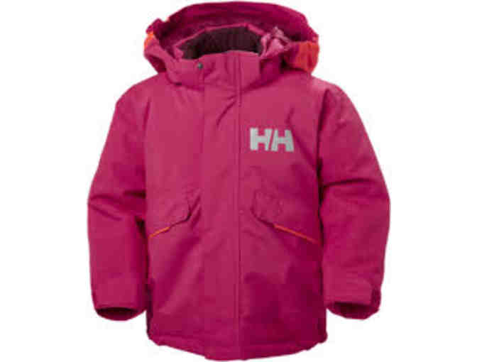 Helly Hansen Snowfall Insulator Jacket - Kids Size 4, Persian Red - Photo 1
