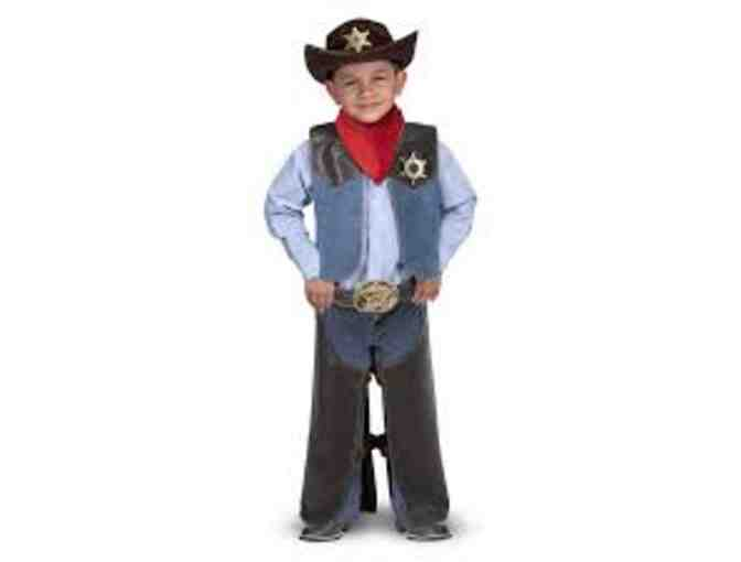 Cowboy Melissa and Doug Costume Set from Basalt Printing, Ages 3 to 5 - Photo 1