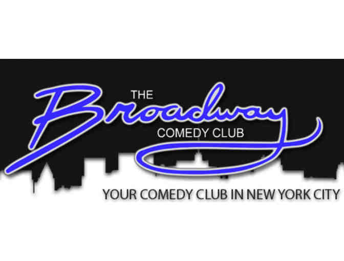 2 Admissions to Broadway Comedy Club - Photo 1