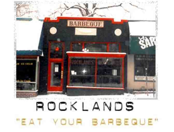 ROCKLANDS Barbeque and Grilling Company $25 Barbeque for You
