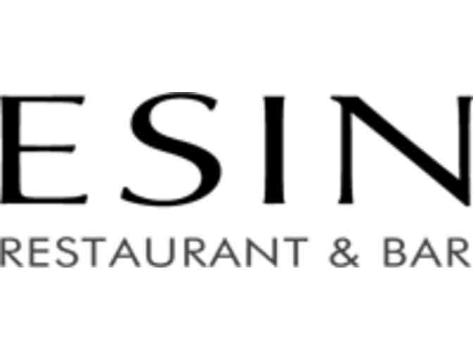A Night at Esin Restaurant & Bar $200 Gift Card - Photo 1