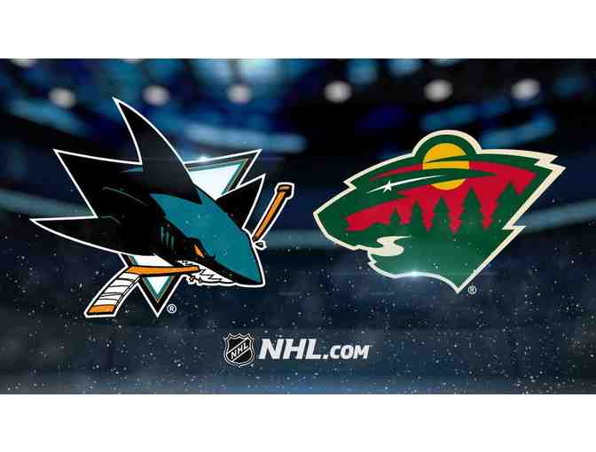 2 Tickets Plus Parking to Sharks vs Minnesota Game - Photo 1