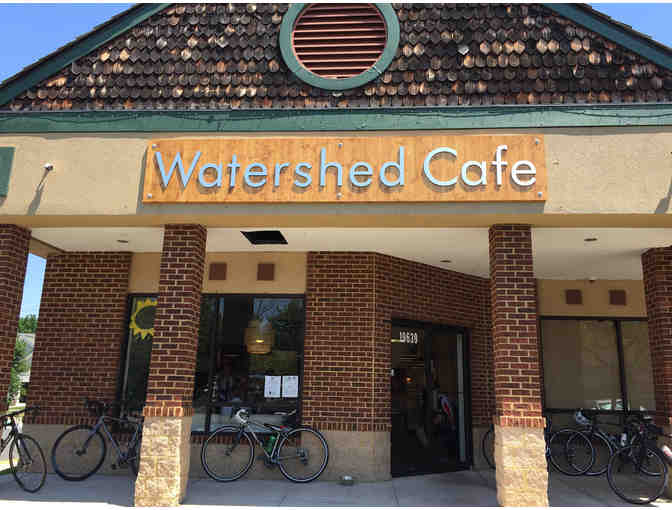 $50 Gift certificate to Watershed Cafe in Poolesville, MD with a bottle of wine - Photo 1