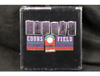 Colorado Rockies' Coors Field Pin Set