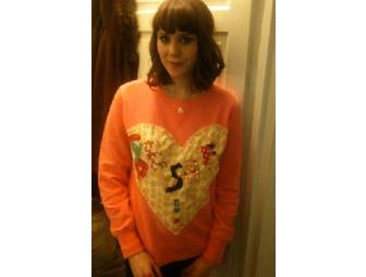 Kate Nash signed and decorated sweatshirt