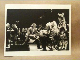 Lauren Dukoff print of Neil Young at his annual Bridge School Benefit