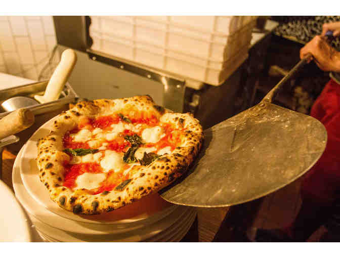 $100 of Neapolitan Pizza by chef Giulio Adriani