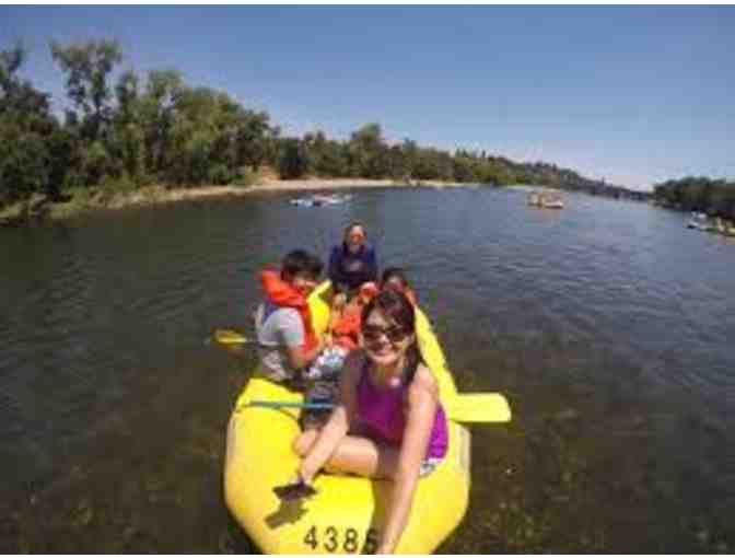 4 Person Raft Rental from American River Rentals - Photo 1