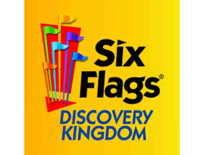 2 Passes for Six Flags Discovery Kingdom - Photo 1