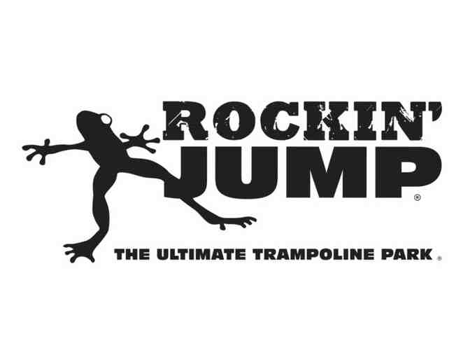 2 Passes to Rockin' Jump Ultimate Trampoline Park @ Epicenter - Photo 1