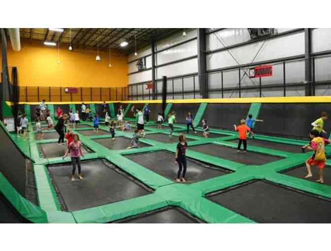 2 Passes to Rockin' Jump Ultimate Trampoline Park @ Epicenter - Photo 2
