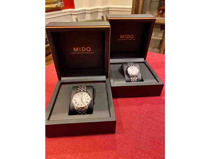 His & Her Mido Swiss watches - Photo 1