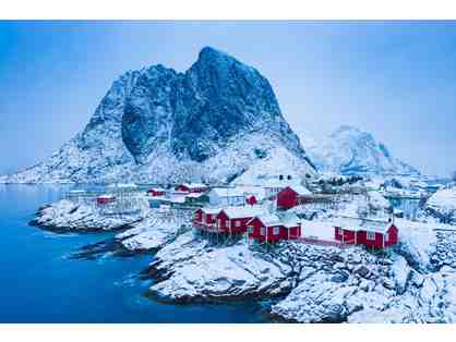 Hamnoy Lofoten - Metal Print Photo by Murali Narayanan