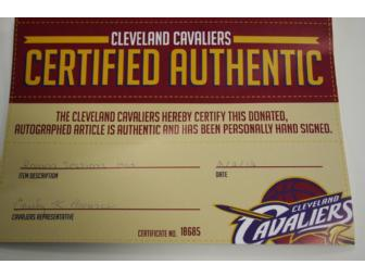 Cleveland Cavaliers Autographed Baseball Cap