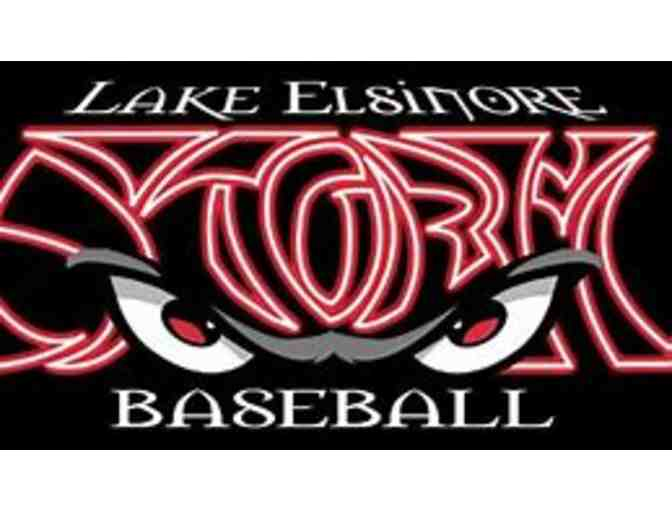 4 Premium Home Plate Tickets to Lake Elsinore Storm Baseball - Photo 1
