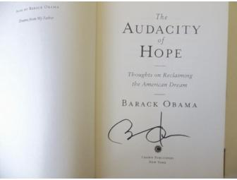 BARACK OBAMA SIGNED THE AUDACITY OF HOPE FIRST EDITION BOOK PRESIDENT - Photo 1