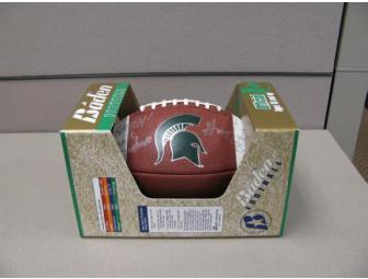 MSU Football Autographed by Head Coach Mark Dantonio