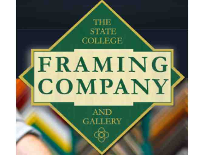 $50 Gift Certificate for The State College Framing Company