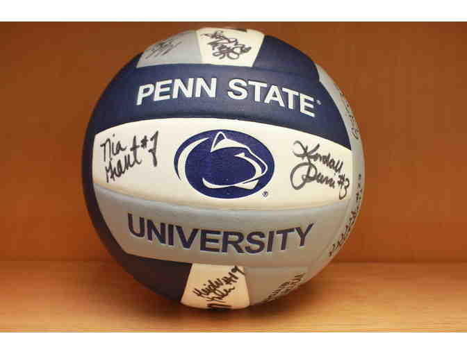 PSU Volleyball signed by the 2014 National Championship Team