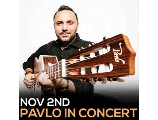 Two Tickets to Pavlo in Concert