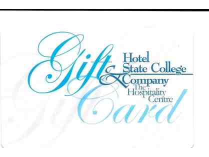 $25 Gift Card for Hotel State College & Company