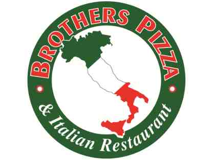 2 $25 Gift Cards to Brother's Pizza and Italian Restaurant
