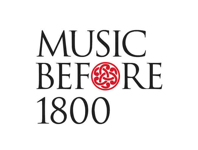 Music Before 1800 Concert Tickets - Photo 1