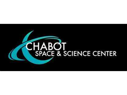 Four Passes to the Chabot Space & Science Center