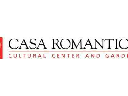 Family Membership, Two Guest Passes to Casa Romantica Cultural Center and Gardens
